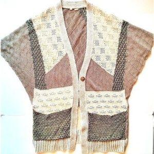 Anthropologie MOTH Cardigan Sweater M L